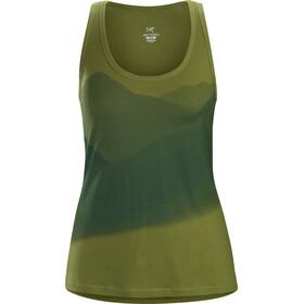 Arc'teryx Valleys Mouwloos Shirt Dames groen/olijf